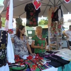 Dolina Raby na rynku głównym w Krakowie