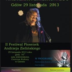 II Festiwal Piosenek Andrzeja Zielińskiego