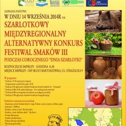 Szarlotkowy Międzyregionalny Alternatywny Konkurs Festiwal Smaków III