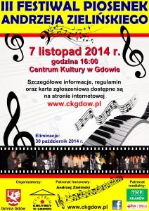plakat a2 - festiwal piosenki