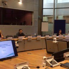 Prezes LGD na seminarium w Brukseli…