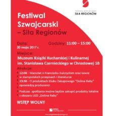 Festiwal Szwajcarski – Zaproszenie do Muzeum