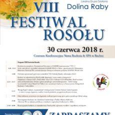 VIII Festiwal Rosołu – zaproszenie i program