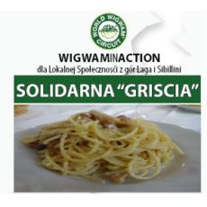 """Pomoc dla naszego partnera z Włoch, która polega na subskrypcji zestawu do gotowania lokalnego produktu """"Griscia"""""""