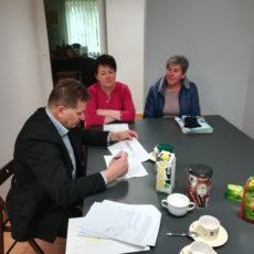 Podpisanie umów z Grantobiorcami