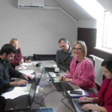 """Pierwsze spotkanie partnerów projektu Erasmus+ """"Przez dziedzictwo kulinarne do kompetencji podstawowych"""""""