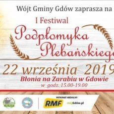 Zaproszenie na I Festiwal Podpłomyka Plebańskiego
