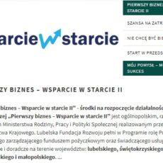 """""""Pierwszy Biznes – Wsparcie w Starcie II"""" – niskooprocentowane pożyczki na podjęcie działalności gospodarczej"""