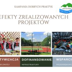 Kampania dobrych praktyk – efekty zrealizowanych projektów cz. 1
