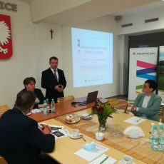 Spotkanie z przedstawicielami Departamentu Funduszy Europejskich UMWM