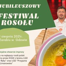 X Festiwal Rosołu – zapraszamy!